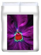 Pansy 03 - Photopower - Thoughts Of You Duvet Cover