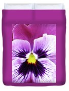 Pansy 07 - Thoughts Of You Duvet Cover