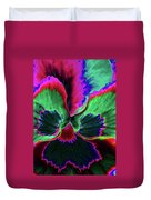 Pansy 10 - Photopower - Thoughts Of You Duvet Cover