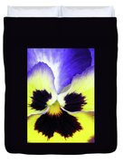 Pansy 10 - Thoughts Of You Duvet Cover
