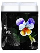 Pansy Statement Duvet Cover