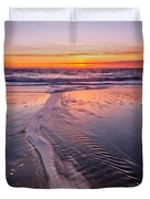 Panther Beach Duvet Cover
