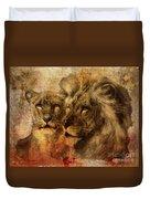 Panthera Leo 2016 Duvet Cover