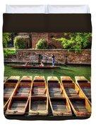 Panting In Cambridge Duvet Cover