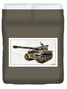 Panzer Tiger I Side Duvet Cover