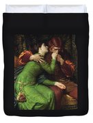 Paolo And Francesca Duvet Cover
