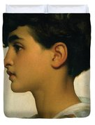 Paolo Duvet Cover by Frederic Leighton