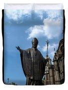 Papa Juan Pablo II - Mexico City I Duvet Cover