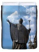 Papa Juan Pablo II - Mexico City II Duvet Cover