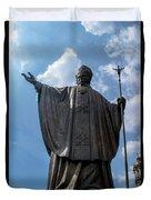 Papa Juan Pablo II - Mexico City IIi Duvet Cover