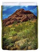 Papago Mountain Duvet Cover