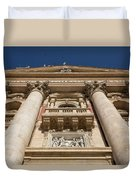Papal Balcony Duvet Cover