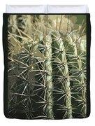 Paper Cactus Duvet Cover