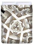 Paper Pattern Duvet Cover