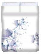 Paper Petals Duvet Cover