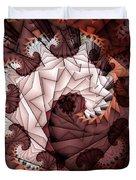 Paper Spiral Duvet Cover