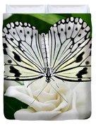 Paperkite On Gardenia Duvet Cover