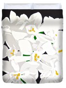 Paperwhites Duvet Cover