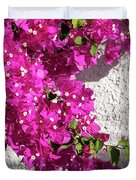 Papery Pink Riot Duvet Cover