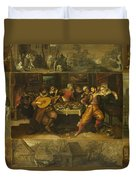 Parable Of The Prodigal Son Duvet Cover