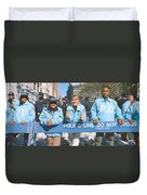 Parade For 1998 World Series Champions Duvet Cover