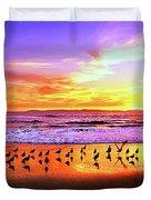 Paradise Found, Huntington Beach, California, Catalina Island Duvet Cover