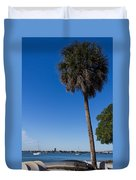 Paradise In Sarasota, Fl Duvet Cover by Michael Tesar
