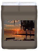 Paradise In Wisconsin Duvet Cover