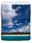 Paradise Is Sandy Cay Duvet Cover