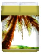 Paradise Palm Duvet Cover
