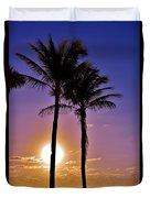 Paradise Palms Duvet Cover