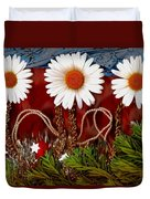 Paradise  Peace Duvet Cover