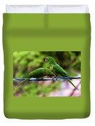 Parakeet Couple Duvet Cover
