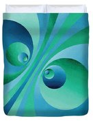 Parallel Universes Duvet Cover
