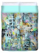 Parallel Worlds Duvet Cover