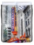 Paramount Theater Boston Ma Duvet Cover