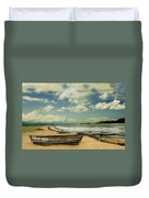 Paraty Beach, So. America Duvet Cover