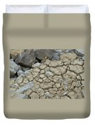 Parched Earth Duvet Cover
