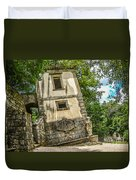 Parco Dei Mostri, Park Of The Monster, In Bomarzo Duvet Cover