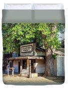 Parimount Ranch Sheriff Office Duvet Cover