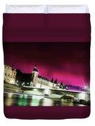 Paris At Night 18 Art Duvet Cover