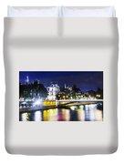 Paris At Night 22 Duvet Cover