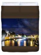 Paris At Night 23 Duvet Cover