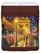 Paris - Campos Elises Duvet Cover