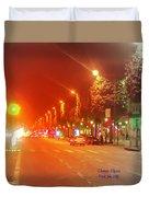 Paris Champs-elysees Duvet Cover