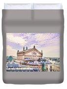 Paris City View 22 Art Duvet Cover