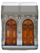 Paris Doors Duvet Cover