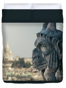 Gargoyle Of Paris Duvet Cover