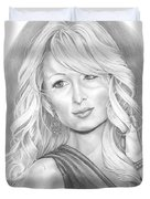 Paris Hilton Duvet Cover