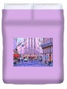 Paris Intersection Duvet Cover